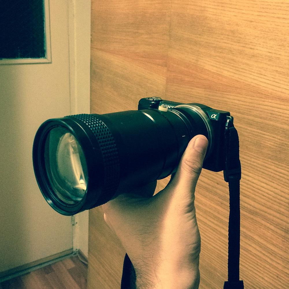 Tieman 35-200mm f8