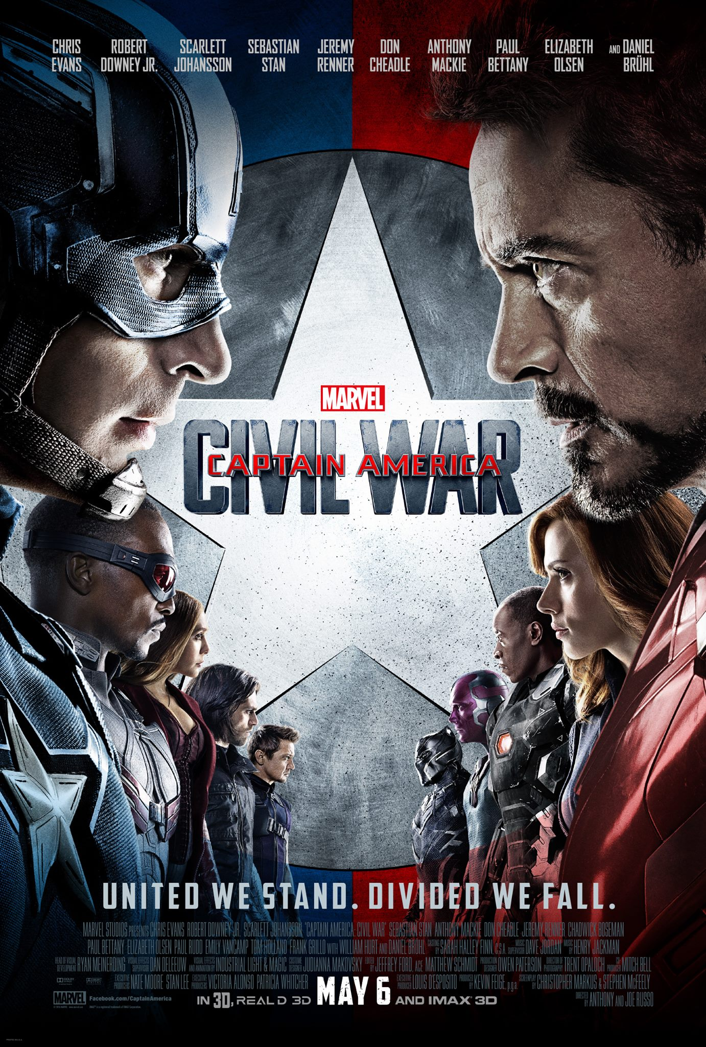 Captain America: Civil War Final Poster