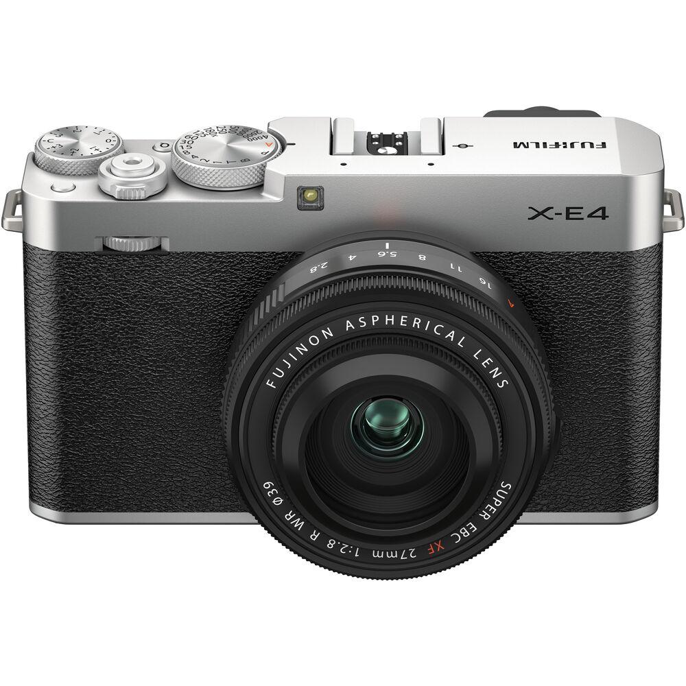 Fujifilm X-E4 with Fujinon XF 27mm f/2.8 lens
