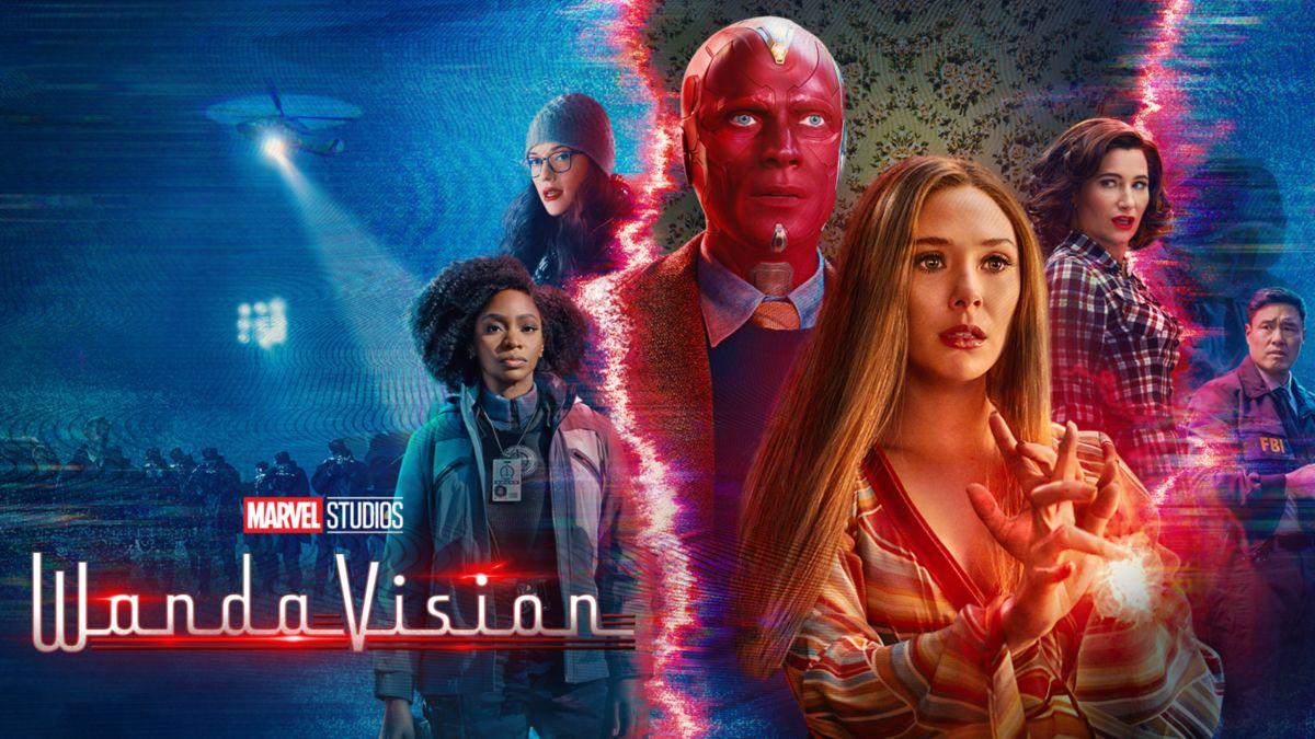 Posterul Serialului WandaVision
